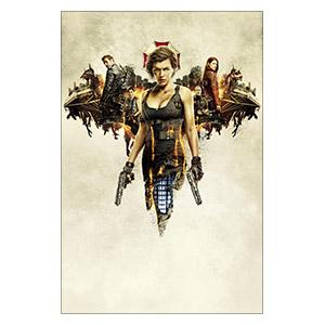 Resident Evil. Размер: 40 х 60 см